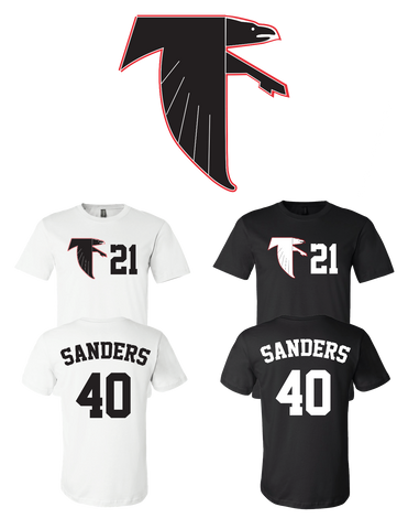 buy popular 17538 a23f0 Deion Sanders #21 Atlanta Falcons Jersey player shirt