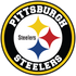 Pittsburgh Steelers Circle Logo Vinyl Decal / Sticker 5 sizes!!