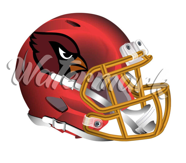 Arizona Cardinals Elite Helmet Sticker / Vinyl Decal  |  10 sizes!! 🏈
