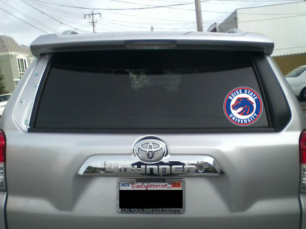 Boise State Circle Logo Vinyl Decal / Sticker 10 sizes!!!