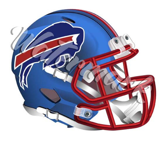 Buffalo Bills Elite Helmet Sticker / Vinyl Decal  |  10 sizes!! 🏈