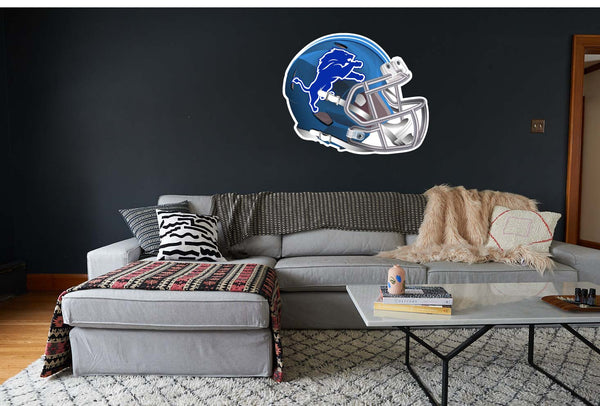 Detroit Lions Elite Helmet Sticker / Vinyl Decal  |  10 sizes!! 🏈