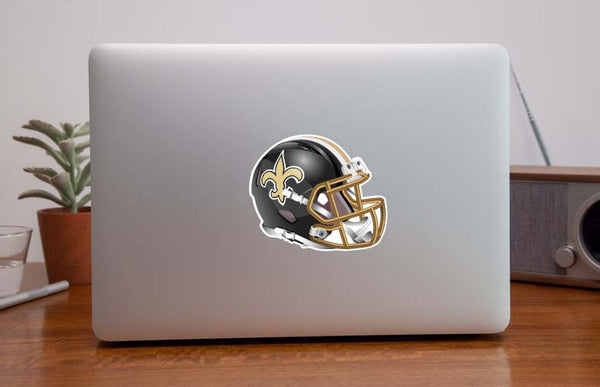 New Orleans Saints Elite Helmet Sticker / Vinyl Decal  |  10 sizes!! 🏈
