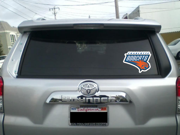 Charlotte Bobcats Vintage Vinyl Decal / Sticker 5 Sizes!!
