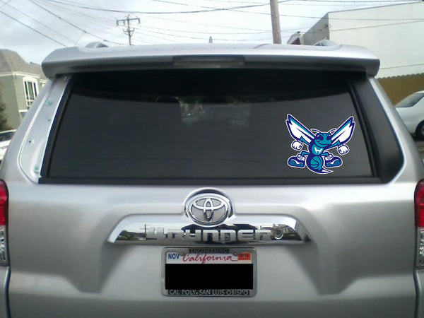 Charlotte Hornets Mascot Vinyl Decal / Sticker 5 Sizes!!