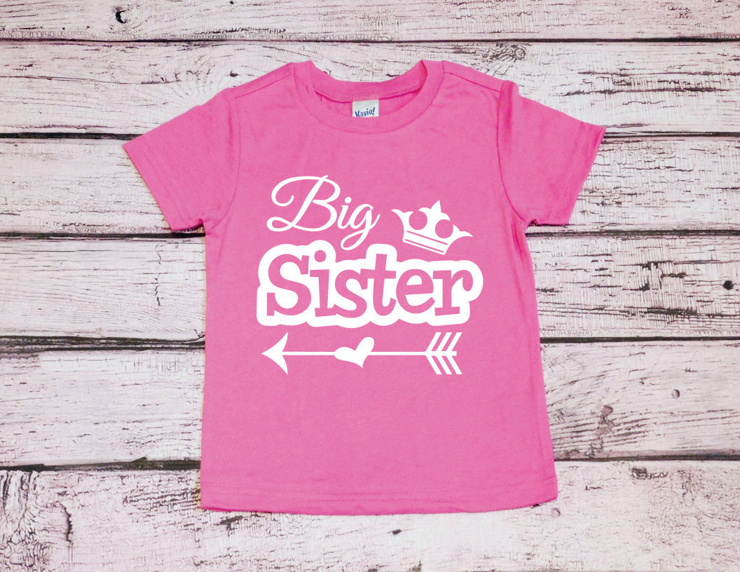 Big Sister Shirt Little Sister Shirt Sibling Shirt Sister Shirts