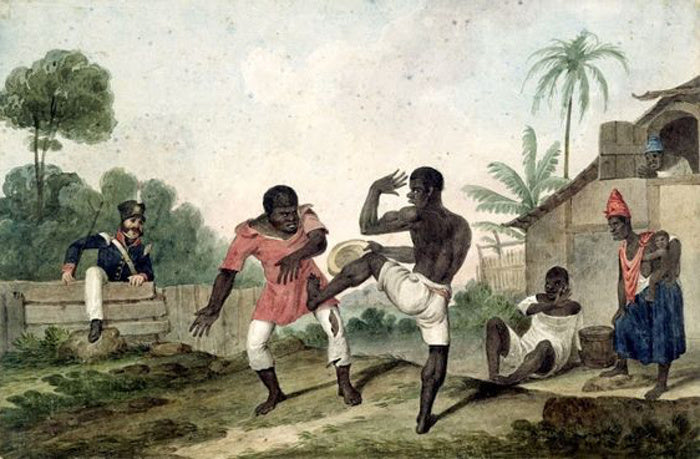 "How African Martial Arts in the United States influenced ""Western"" Boxing and Wrestling"