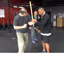 Load image into Gallery viewer, Stick Method of The Piper System; Coming from classical N'guni stick fighting, this could be better described as street stick.  A need to have collection for the African martial artist or anyone interested in developing skills in proven street self-defense skills!