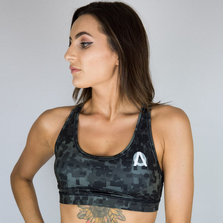 Digi Camo Padded Sports Bra