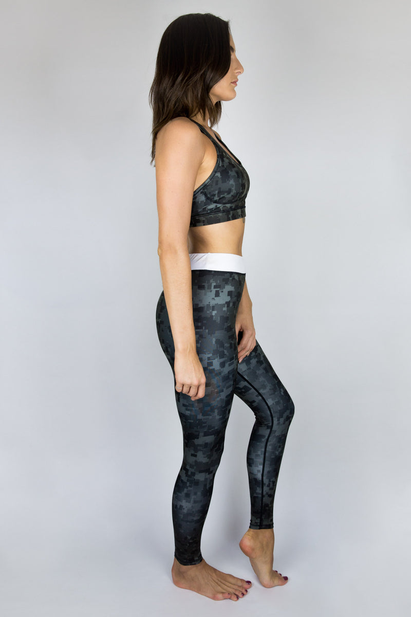 Digi Camo Print Leggings