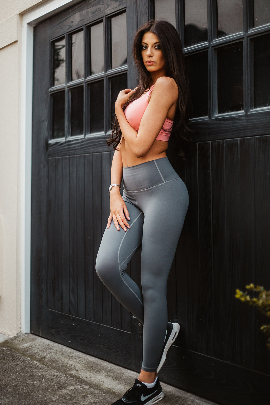 Grey Aurora Leggings