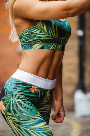 Jungle Print Leggings
