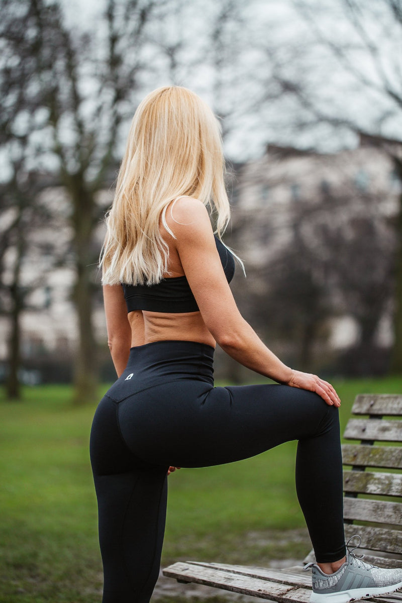 Black Aurora Leggings
