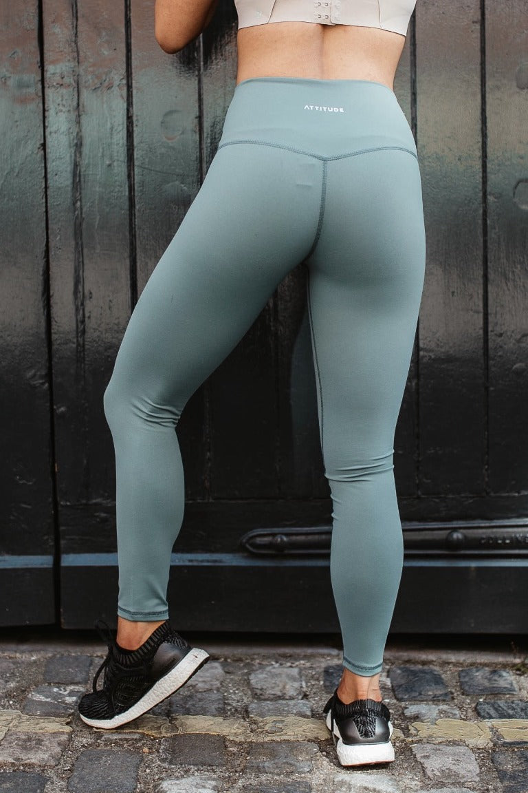 Sage Green Aurora Leggings