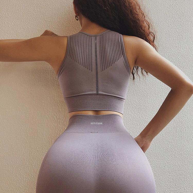 Luxe Seamless Leggings Lilac