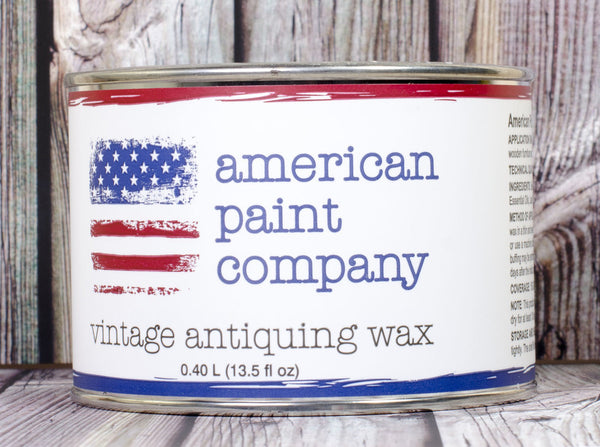 American Paint Company | 14 oz. Clear Wax