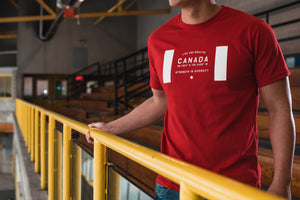 Canada Team Tee | Red