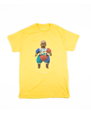 Zes Nullen Baby Yellow T-Shirt