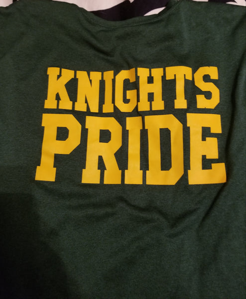 KNIGHT'S PRIDE SHIRT- Adult and Youth Heather Tee's
