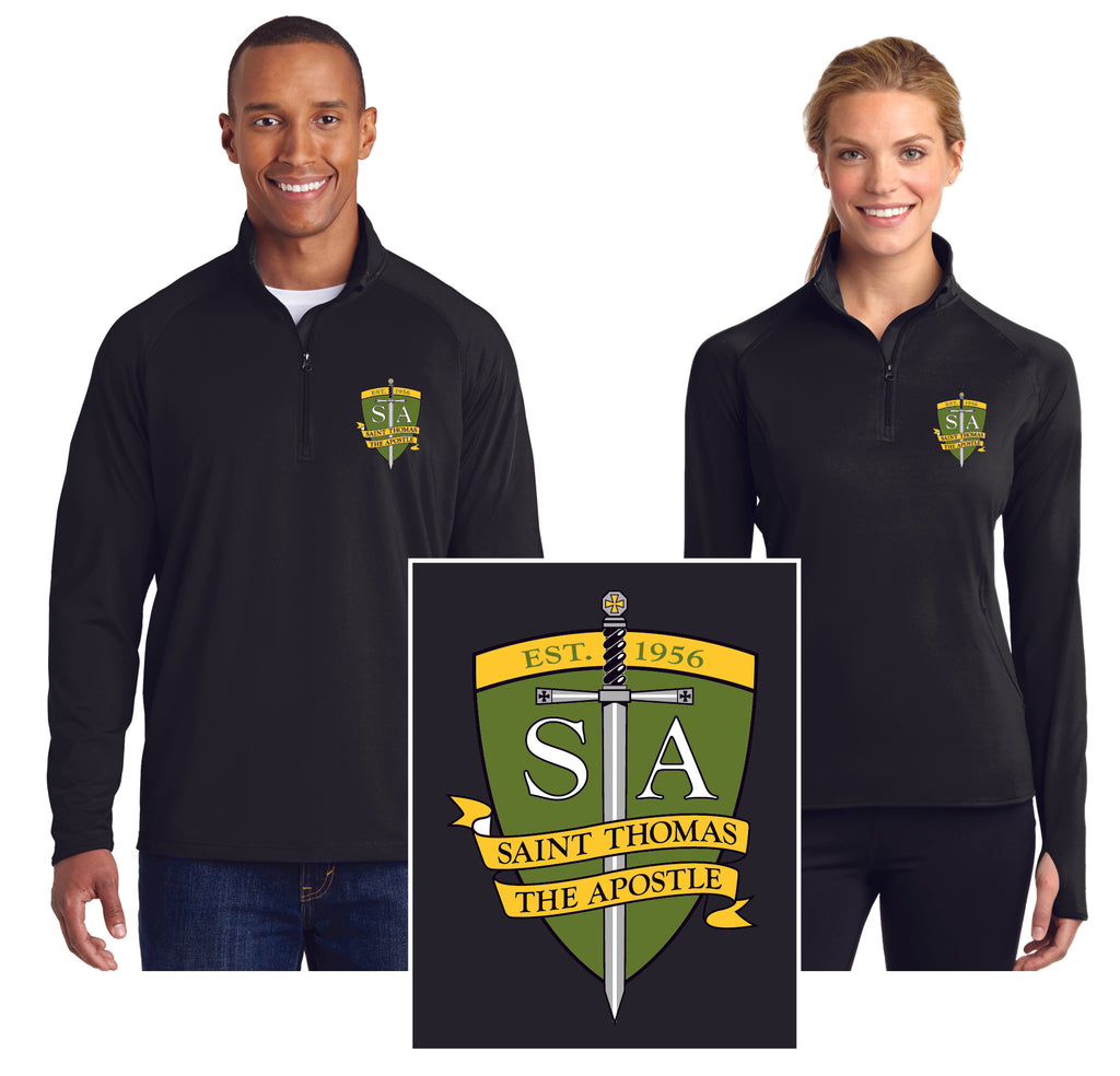 Mens and Ladies 1/2 Zip Pullovers