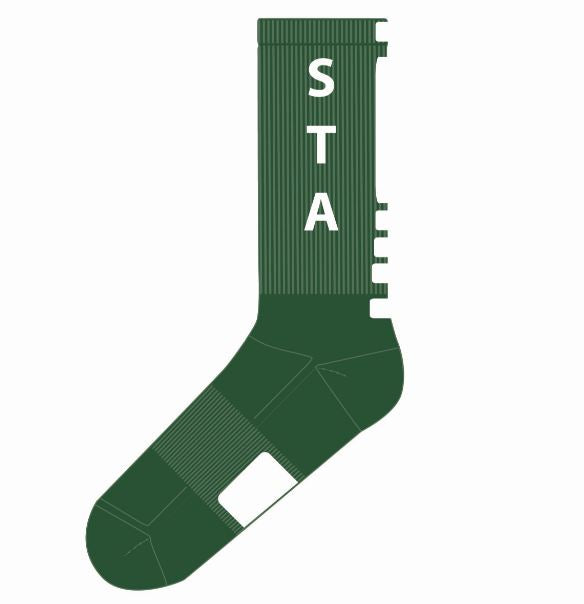 Custom STA Socks!  Wear your STA socks to every game or school event