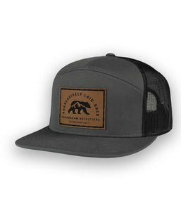 Aggressively Laid Back Charcoal High Profile Outdoor Trucker Hat