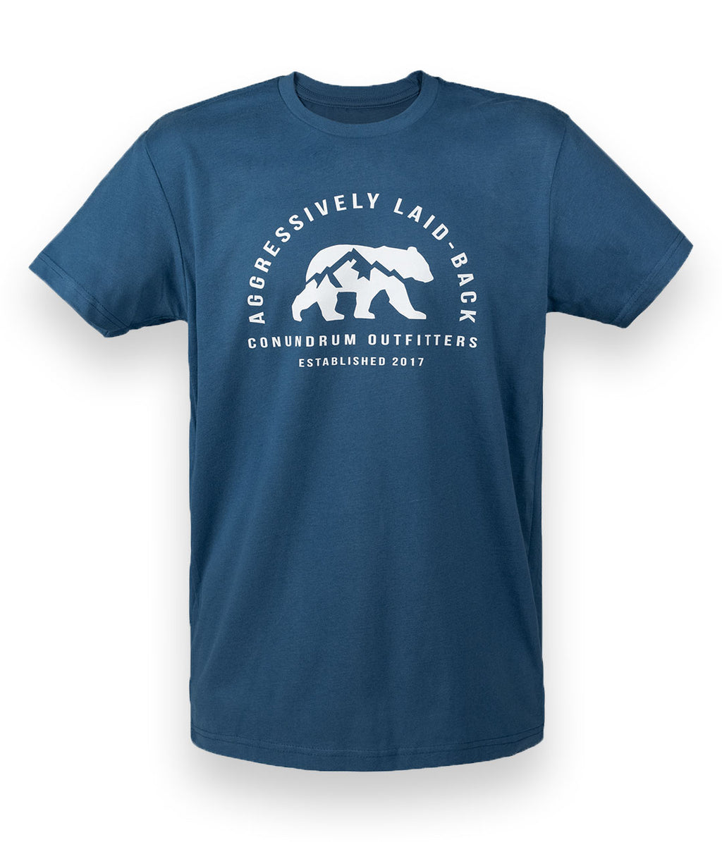 Aggressively Laid-Back River Blue Short Sleeve Tshirt