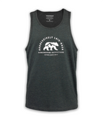Aggressively Laid Back Tank - Charcoal