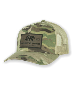 roam defend provide trucker hat