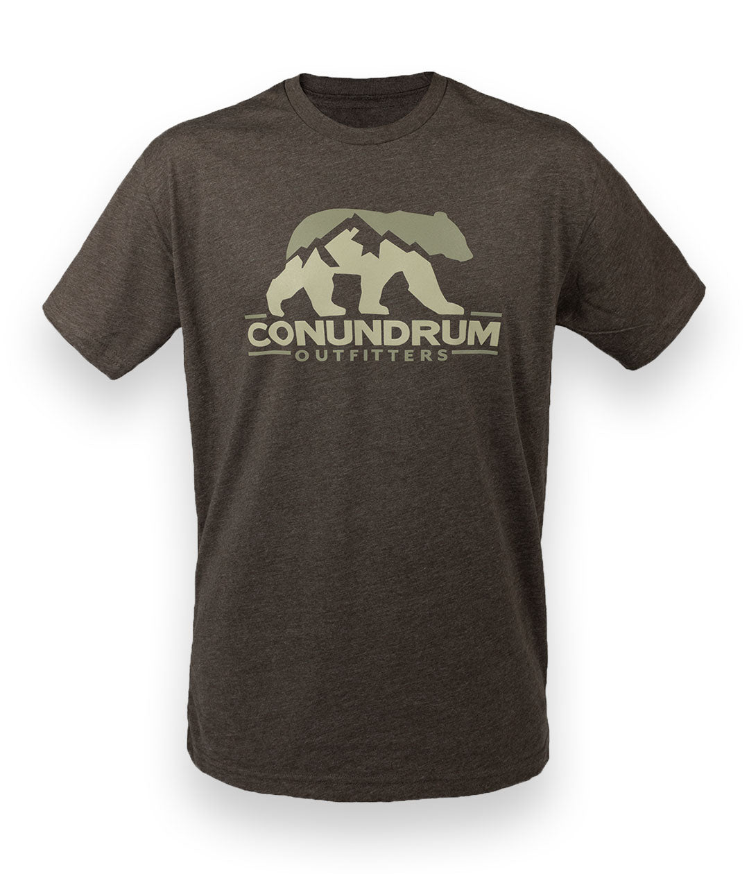 Conundrum Espresso Short Sleeve Shirt