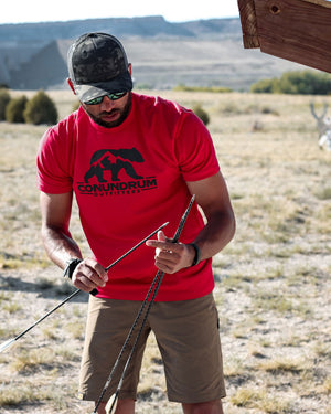Conundrum Red Short Sleeve Archery