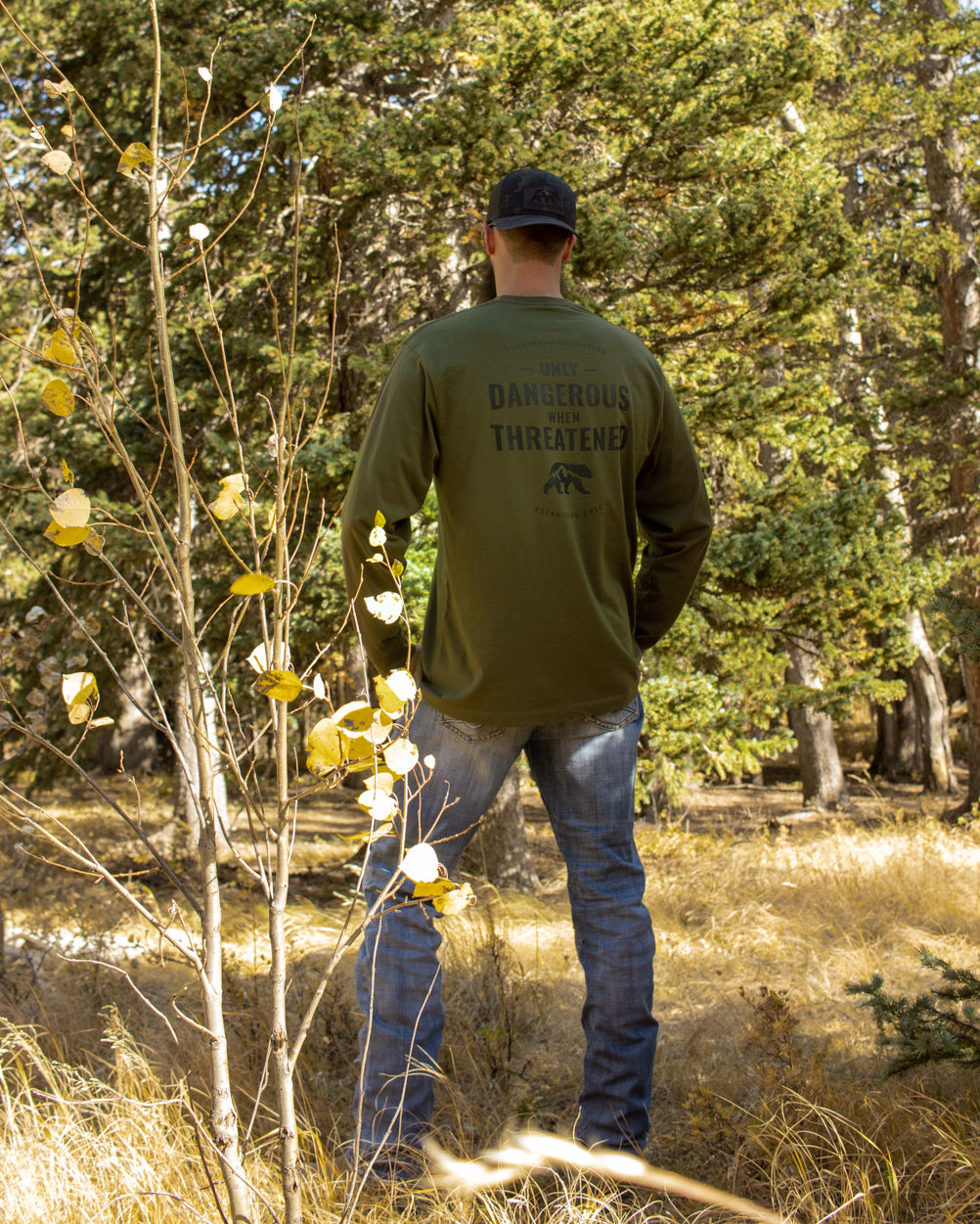 Dangerous Long Sleeve - Army Green