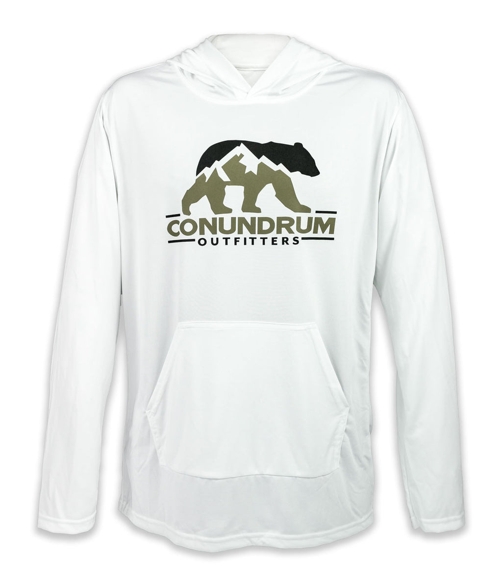 Mountain Shadows Polyester Performance Hoodie
