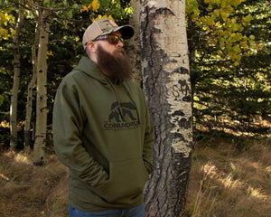 Outfitters Army Green Hoodie Outdoors