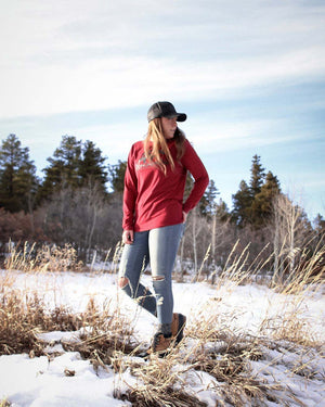 Outfitters Cardinal Long Sleeve