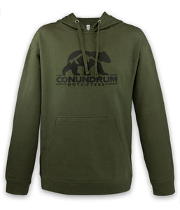 Outfitters Army Green Hoodie