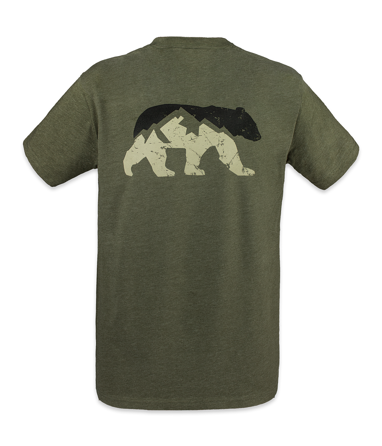 Ridgeline Short Sleeve - Heather Military Green