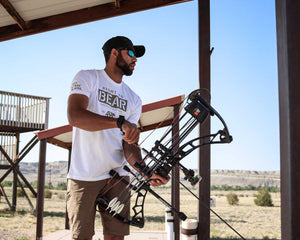 Bear Rights White Short Sleeve Archery