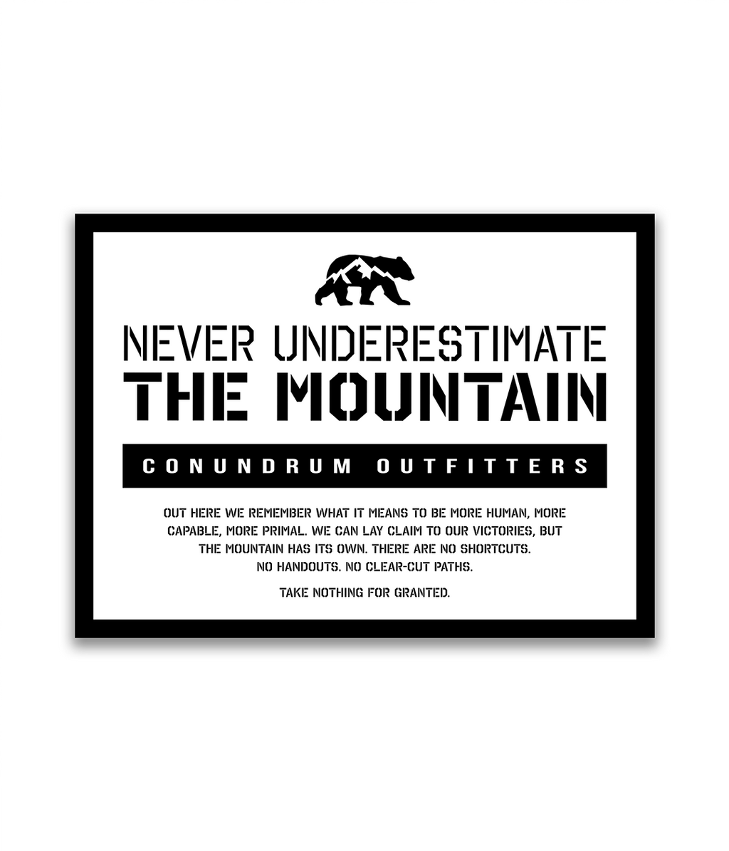 The Mountain Sticker