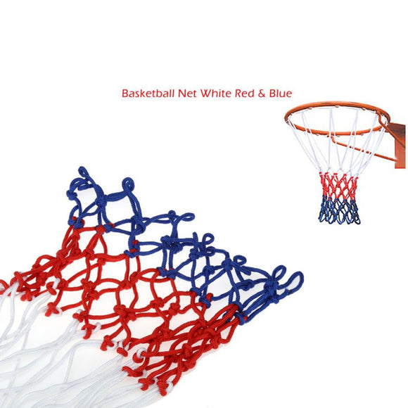 Classic Red White and Blue Basketball Net