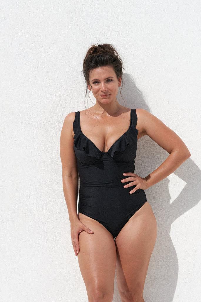 SOFIA ONE PIECE - BLACK