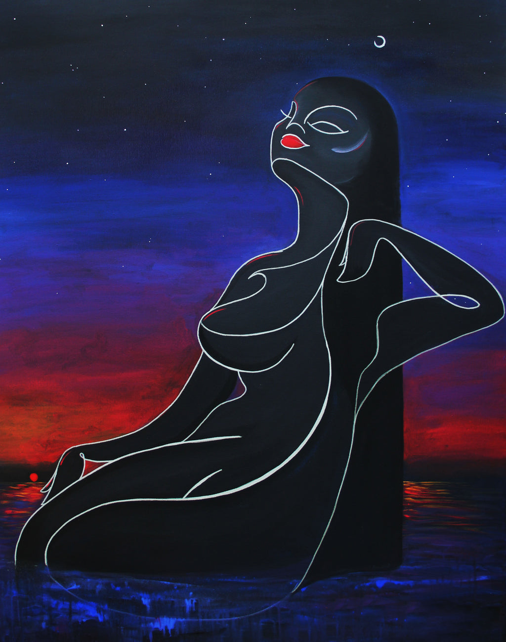 Aurora: Sunset Bather