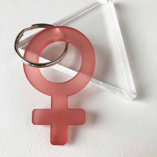 Woman Power Keychain