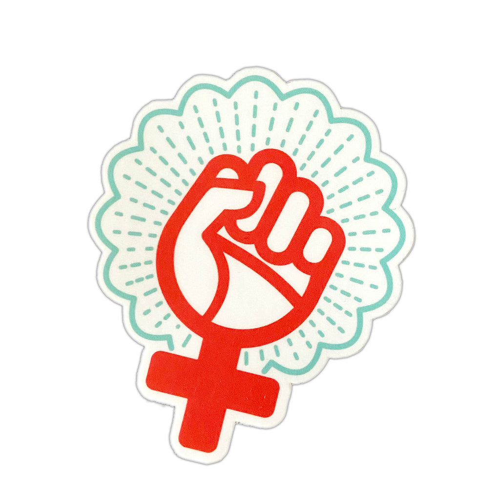 Woman Power Sticker