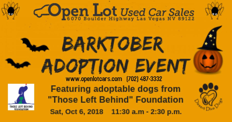 Barktober Adoption Event