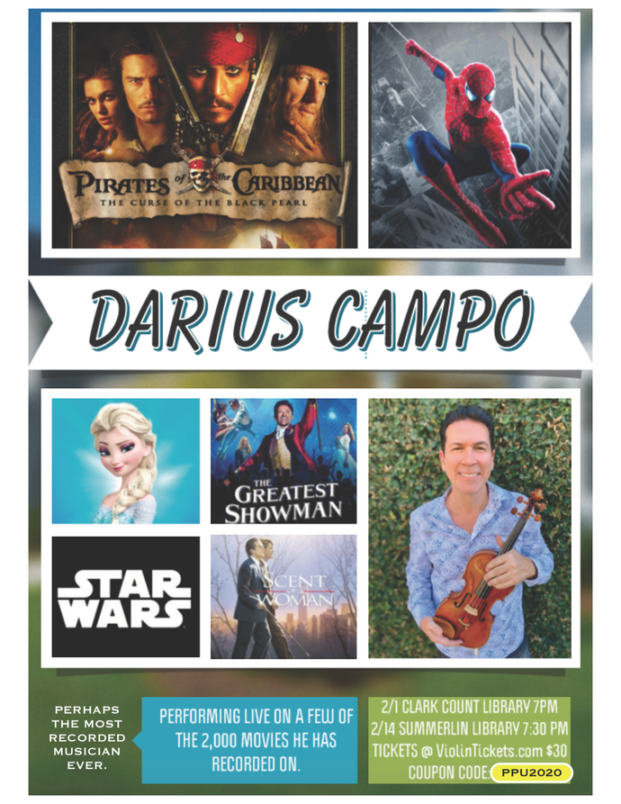 Darius Campo, Feb 1st and 14th