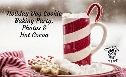 Holiday Dog Cookie Baking Party