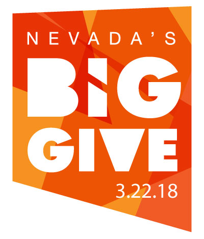 We are participating in Nevada's Big Give 2018 - March 22, 2018