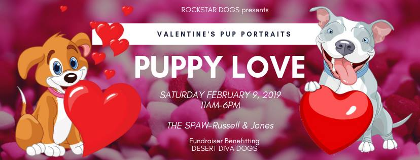 Puppy Love-Valentine's Pup Portraits by RockStar Dogs
