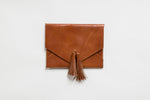 The Tassel Envelope Clutch